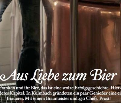 Aus Liebe zum Bier – Servus